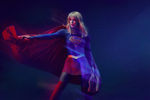 Supergirl Season 5 2019 4k Wallpaper