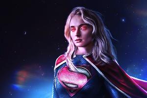 Supergirl Sophie Turner 2020