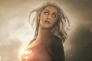 Supergirl Superhero Wallpaper