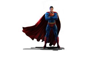 Superman 2020 4k Minimalism Wallpaper