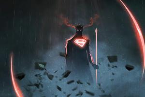 Superman 4k Minimalism