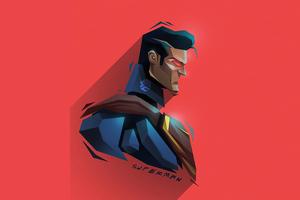 Superman 5k Minimalism Wallpaper