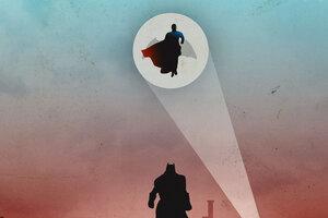 Superman And Bat
