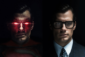 Superman And Clark Kent 4k
