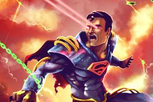 Superman Art Wallpaper