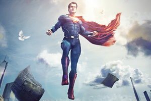 Superman Arts 4k