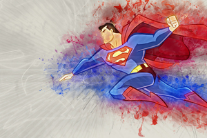 Superman Artwork 4k