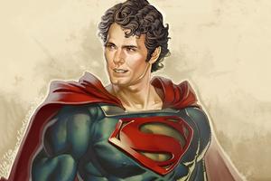 Superman Artwork HD