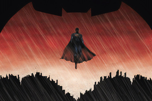 Superman Bat Wallpaper