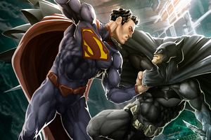Superman Batman 4k