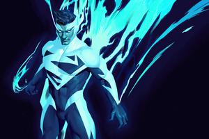 Superman Blue 5k Wallpaper