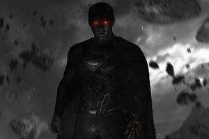 Superman Dark Days Glowing Eyes 5k Wallpaper