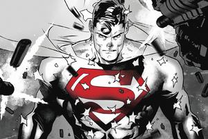 Superman Dc Comic Art