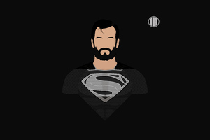 Superman Dceu Minimalism 8k Wallpaper