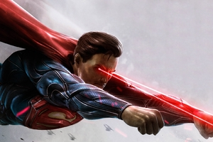 Superman Digital Art HD Wallpaper