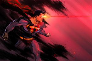 Superman Eye Laser