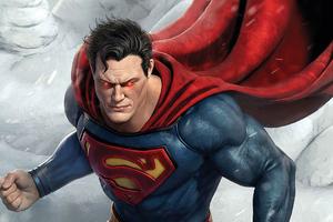 Superman Eye Laser God Wallpaper