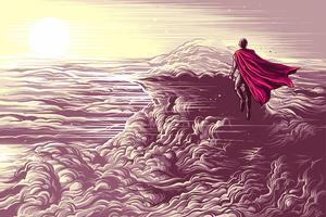 Superman Fly Wallpaper