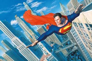 Superman Flying New Art