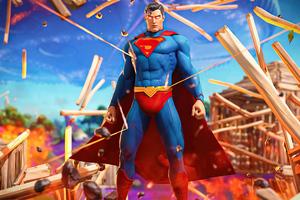 Superman Fortnite 4k