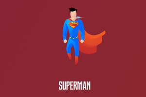 Superman Illustration 4k
