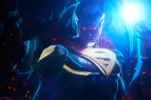 Superman Injustice 2 Art Wallpaper