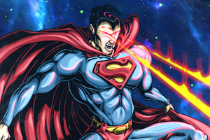 Superman Laser Eye