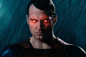 Superman Laser Eye 2020 Wallpaper