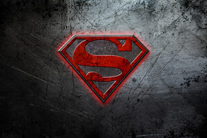 Superman Logo 4k Wallpaper