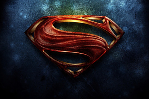 Superman Logo Art 4k Wallpaper
