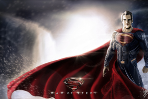 Superman Man Of Steel 10k Wallpaper