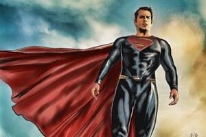 Superman Man Of Steel 4k Art