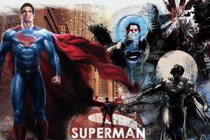 Superman Man Of Steel 4k