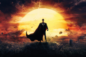 Superman Man Of Steel4k Wallpaper