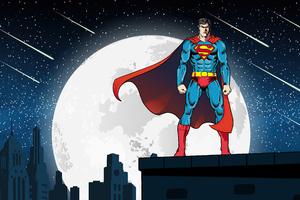 Superman Metropolis Wallpaper
