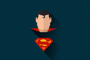 Superman Minimal Art
