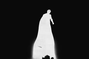 Superman Minimalism 2020 4k