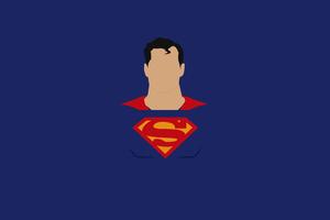 Superman Minimalism Art