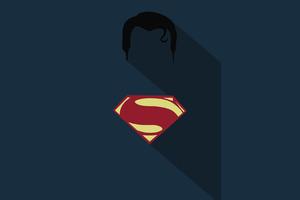 Superman Minimalism Poster