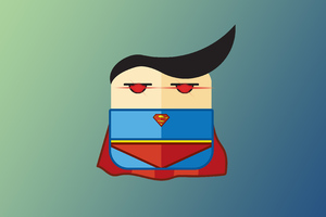 Superman Minimalist 4k