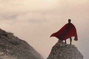 Superman Mountains Wallpaper