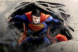 Superman New Art