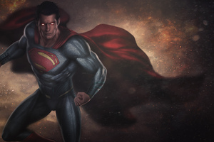 Superman New Digital Art