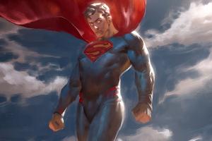 Superman Newart Wallpaper