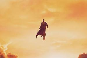 Superman No Sky Limits Wallpaper