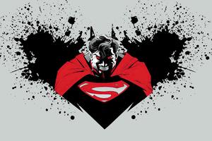 Superman Red 4k