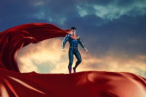 Superman Red Cape