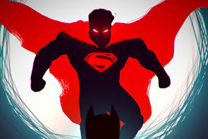 Superman Red Dark