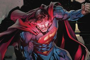 Superman Red Eye Alert Wallpaper