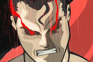Superman Red Eyes